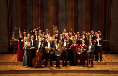 Operation S:t Petersburg - Blåsarsymfonikernas turné inleder ryskt samarbete