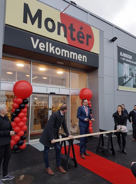 Nå åpner helt nye Montér Haugesund