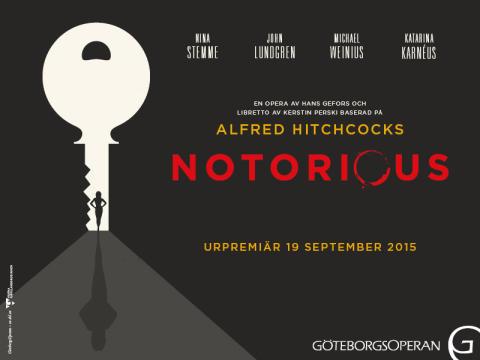 Smakprov ur Notorious och unik reading av nya musikalen Camera på Ingrid Bergmans 100-årsdag