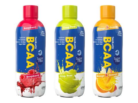 Färdigblandad BCAA dryck från Dalblads