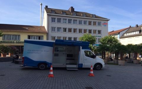 Beratungsmobil der Unabhängigen Patientenberatung kommt am 20. Februar nach Heilbronn.