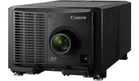Canon makes its debut in the large venue projection market, with a 4K laser projector delivering 40,000 centre lumens of brightness
