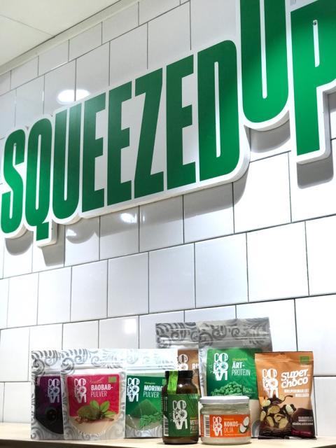 CocoVi & SqueezedUp inleder samarbete
