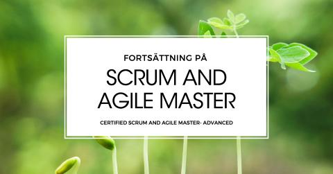 Ny kurs - Certifierad Scrum and Agile Master - Advanced
