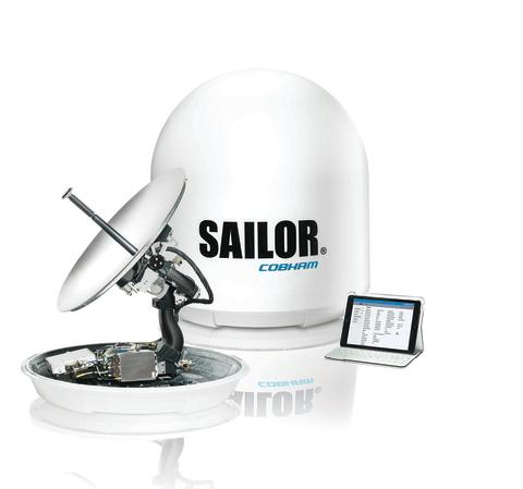 High res image - Cobham SATCOM - SAILOR 600 VSAT Ku