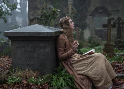 Mary Shelley - Drama med Elle Fanning
