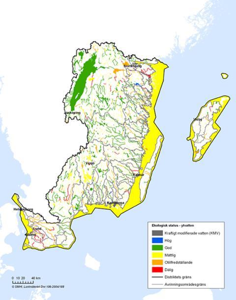 HaV klar med regler för miljöstatus  på svenskt ytvatten