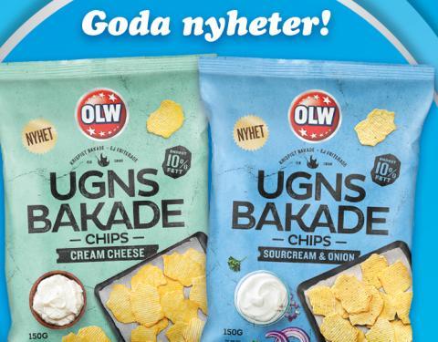 OLW relanserar en efterfrågad favorit – Ugnsbakade chips