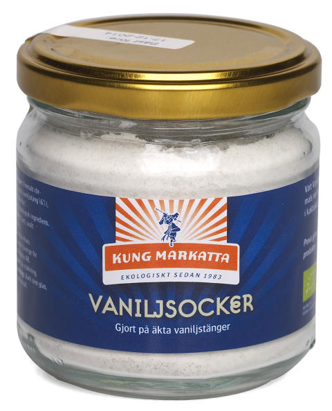 Ekologiskt äkta vaniljsocker