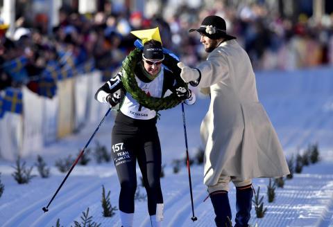 Britta Johansson Norgren vann Tjejvasan 2017