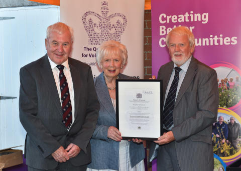 Brighter Whitehead receives Royal award