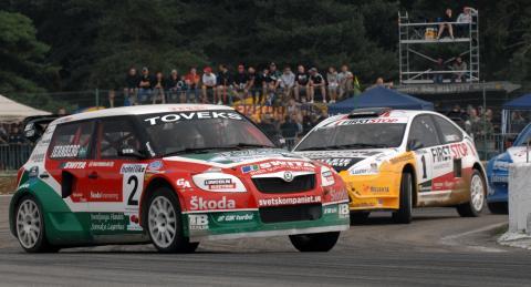 Rallycross-EM: Jernberg siktar på bra avslutning