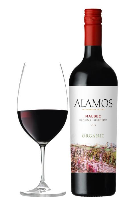 Alamos Malbec Organic 2015