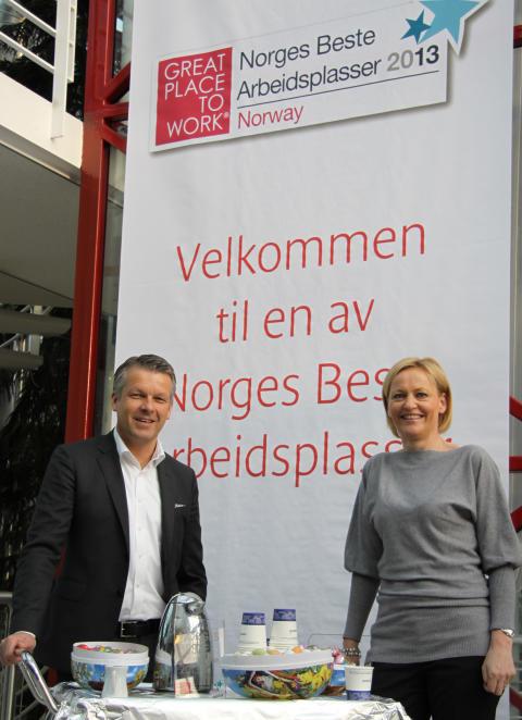 Canon en av Norges Beste Arbeidsplasser for fjerde gang på rad.