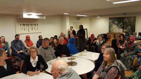 Stort engagemang och framtidstro på Viksäng
