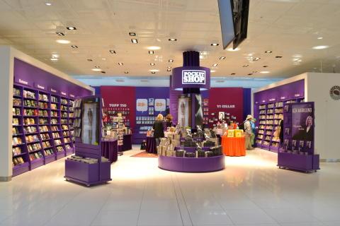Ny utrikes avgångshall Landvetter, Pocket Shop