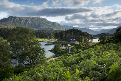 Loch Affric, Glen Affric, Highlands of Scotland.
