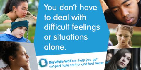 24/7 online mental health and wellbeing support for young people