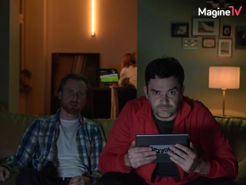 """Foto TV-Spot """"Fußball da!"""" 01, Magine TV"""