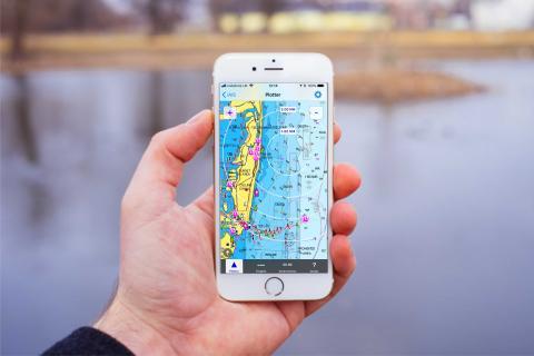 L'appli iAIS utilise maintenant les cartes Navionics