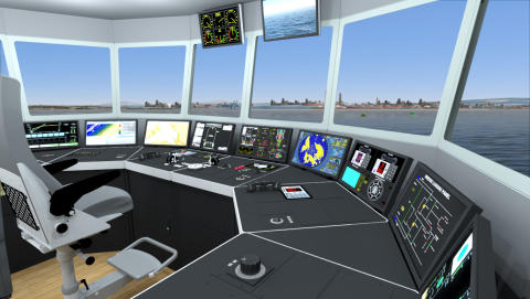 VDAB in Belgium expands operational specific training capabilities with new KONGSBERG dredging simulator
