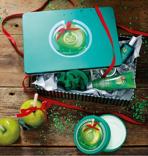 Studio Shot Glazed Apple Gift