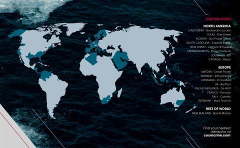 Document - Cox  Powertrain - Global distribution map