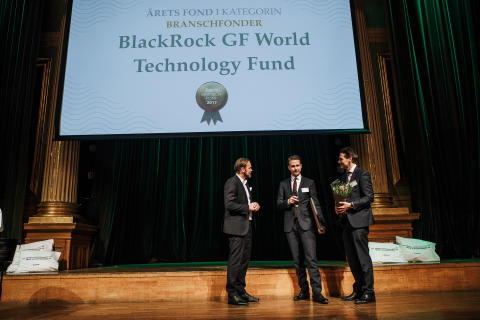 Årets Branschfond 2017 - BlackRock GF World Technology Fund
