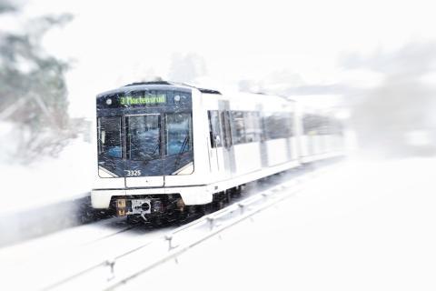 Velkommen tilbake til T-banens linje 3 til Bøler