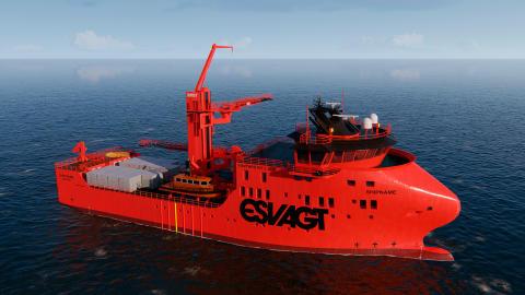 ESVAGT skal levere 2-3 nye vindmølleskibe til MHI Vestas