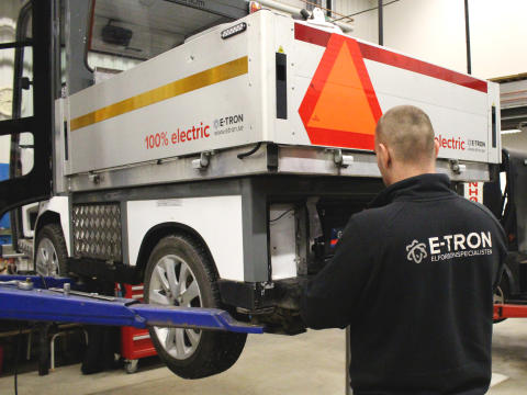 E-TRON sluter serviceavtal med Stena Fastigheter