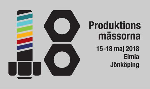 Elmia Produktionsmässor 15-18 maj 2018