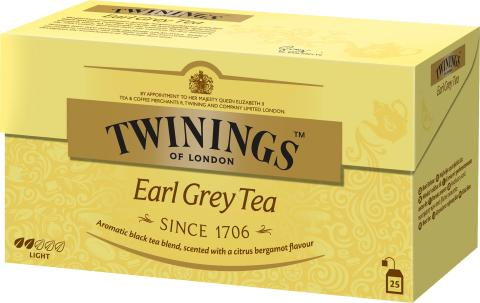 Twinings Earl Grey 25 påsar