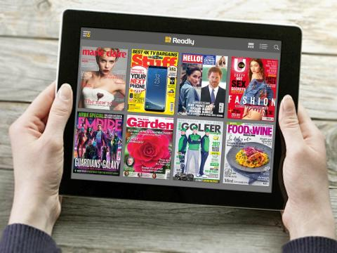 Bounce into spring with Readly - Your favourite health & fitness magazines all in one app.