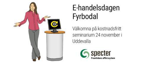 E-handelsdagen Fyrbodal 24:e november i Uddevalla