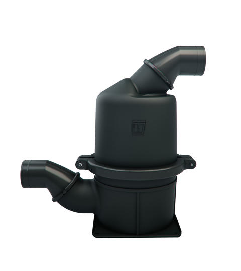 Hi-res image - VETUS - The VETUS HPW series Heavy Duty (HD) waterlocks have been developed using the special blended composite NAVIDURIN®