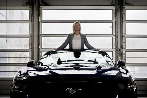 Kvinder bag rattet - Lene Dahlquist