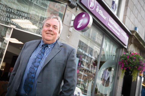 Singing the praises of Aberdeen's new VisitScotland Information Centre