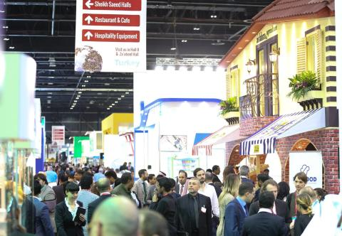 Caliente at Gulfood Trade Show in Dubai
