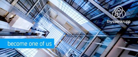 thyssenkrupp söker erfarna servicetekniker för hiss- och rulltrappor