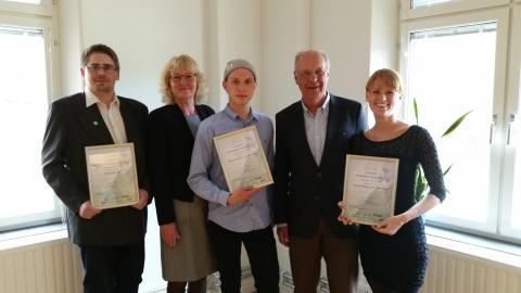 Första länsprisutdelningen 2014 för SKAPA-priset i Karlshamn