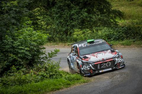 Svenske Emil Bergkvist är toppkandidat i Hyundai Motorsports jakt på framtidens WRC-stjärna