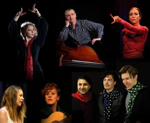 Premiär i Jordbro Kulturhus på Compaso Flamencos nya spännande produktion