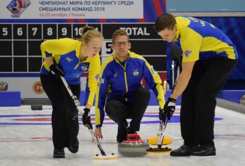 Curling: VM-silver till Sverige i mixed-VM
