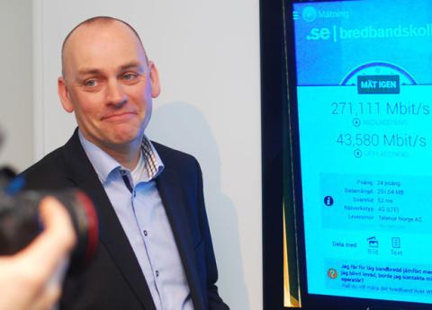 Telenor lanserer 4G+