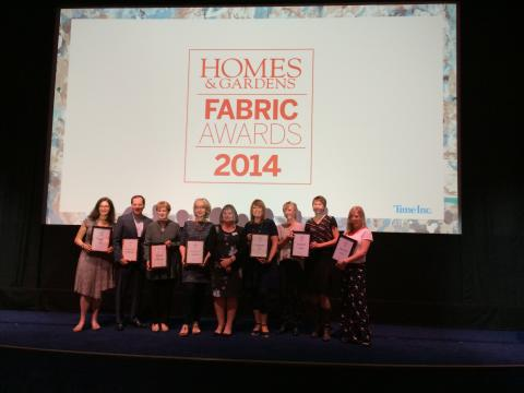 Homes & Gardens Fabric Awards 2014