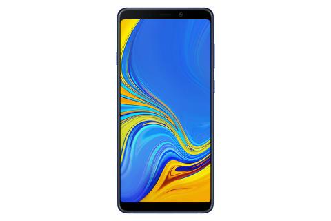 Galaxy A9_Front_Lemonade Blue
