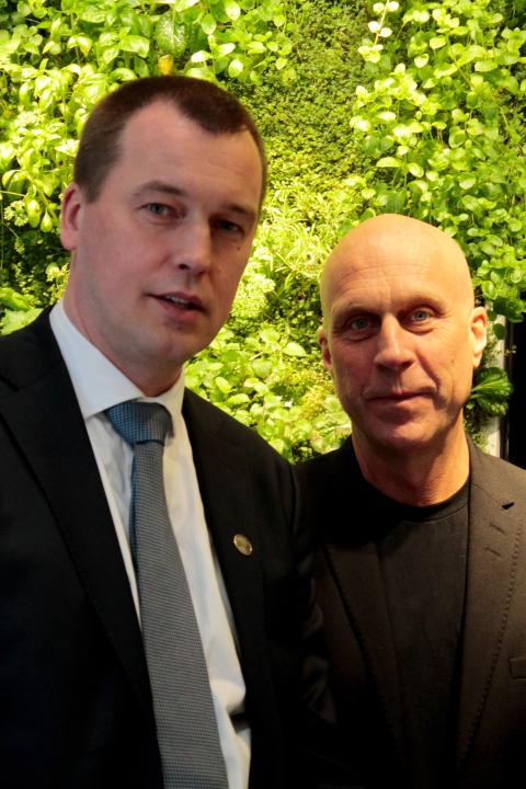 Owe Pettersson and Hans Hassle