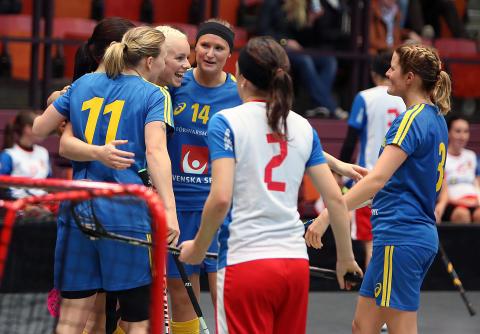 Sveriges damer vände och vann mot Tjeckien