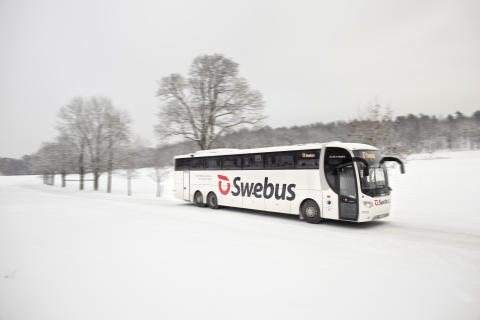 Swebus tester romslige premiumturer for julereisende mellom Oslo og Göteborg
